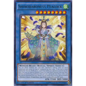Shinobaroness Peacock