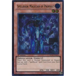 Spellbook Magician of Prophecy (Ultimate Rare)