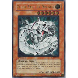 Cyber Barrier Dragon (Ultimate Rare)