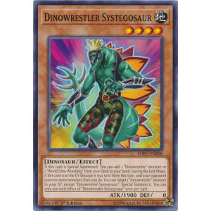 Dinowrestler Systegosaur