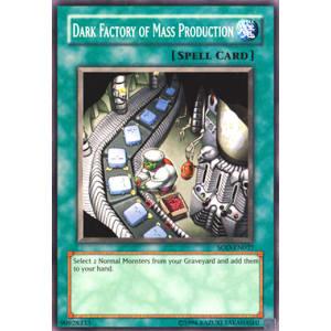Dark Factory of Mass Production