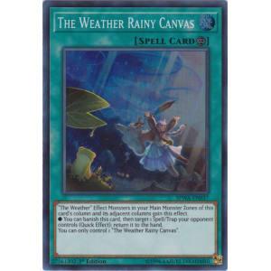 The Weather Rainy Canvas