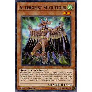 Altergeist Silquitous (Starfoil Rare)