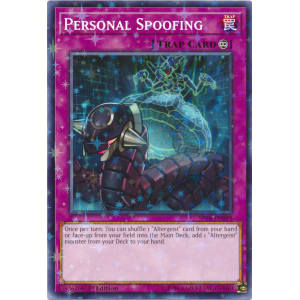 Personal Spoofing (Starfoil Rare)