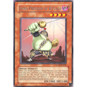 Djinn Presider of Rituals