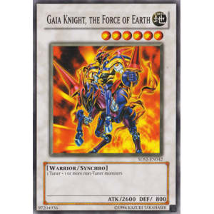 Gaia Knight, the Force of Earth (Common)