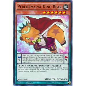 Performapal King Bear