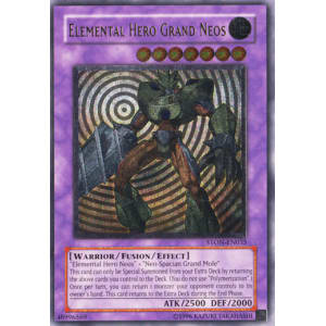 Elemental Hero Grand Neos (Ultimate Rare)