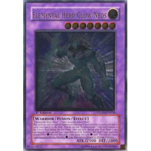 Elemental Hero Glow Neos (Ultimate Rare)