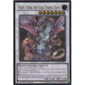 Yazi, Evil of the Yang Zing (Ultimate Rare)