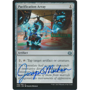 Pacification Array Signed by Joseph Meehan