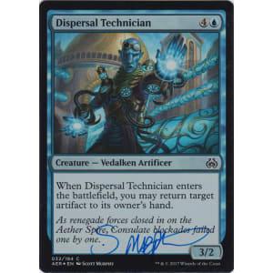 Dispersal Technician FOIL Signed by Scott Murphy