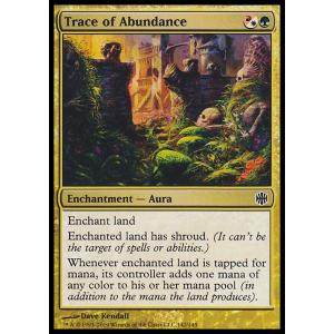 Trace of Abundance