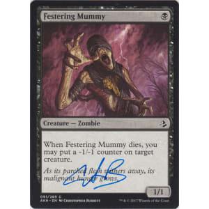 Festering Mummy Signed by Christopher Burdett