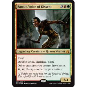 Samut, Voice of Dissent