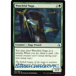 Watchful Naga Signed by Anastasia Ovchinnikova