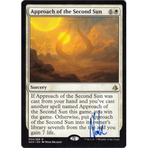 Approach of the Second Sun Signed by Noah Bradley