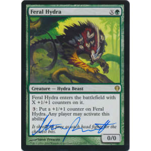 Feral Hydra Signed by Steve Prescott