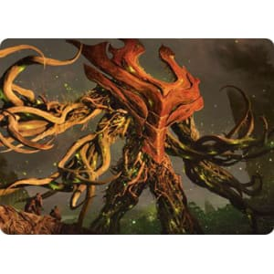 Extended Art Near Mint MTG Zendikar Rising Soul of the Wild 358 Ashaya