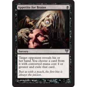 Appetite for Brains