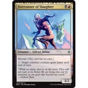Forerunner of Slaughter