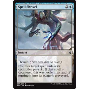 Spell Shrivel