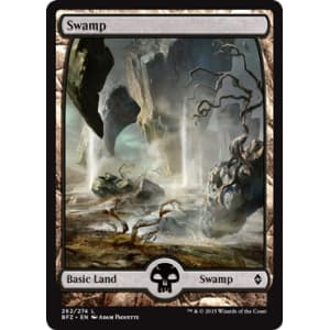 Swamp C - 262 (Full Art)