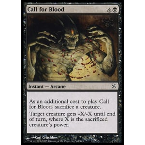 Call for Blood