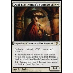 Opal-Eye, Konda's Yojimbo