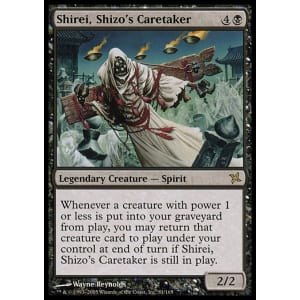 Shirei, Shizo's Caretaker
