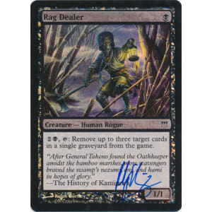 Rag Dealer FOIL Signed by Ralph Horsley