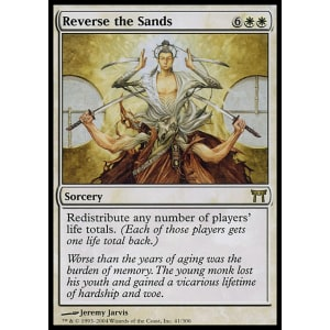 Reverse the Sands