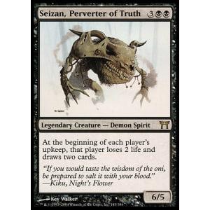 Seizan, Perverter of Truth