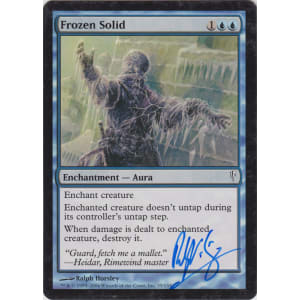 Frozen Solid Signed by Ralph Horsley