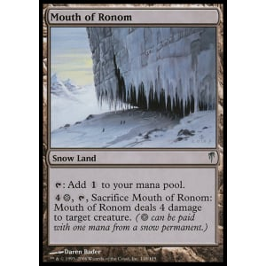 Mouth of Ronom