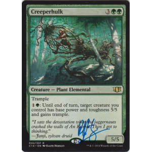 Creeperhulk Signed by Ralph Horsley