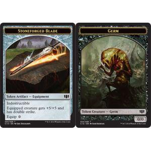 Germ (Token) // Stoneforged Blade (Token)