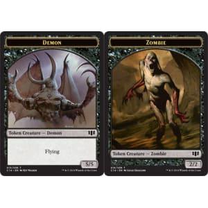 Demon (5/5) // Zombie (Token)