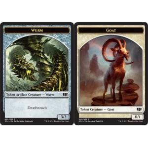 Goat (Token) // Wurm (Deathtouch)