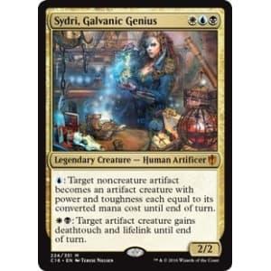 Sydri, Galvanic Genius