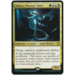 Atraxa, Praetors' Voice (Oversized Foil)
