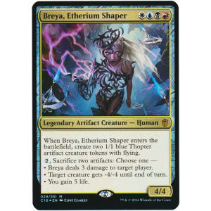 Breya, Etherium Shaper (Oversized Foil)