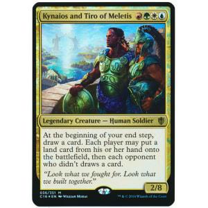 Kynaios and Tiro of Meletis (Oversized Foil)