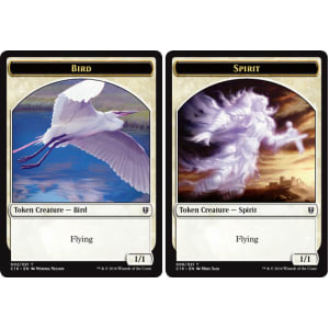 Bird (Token) // Spirit (Token)