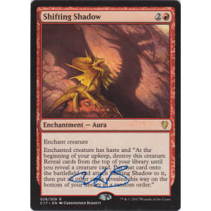 Shifting Shadow Signed by Christopher Burdett