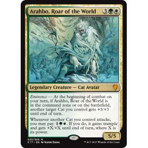 Arahbo, Roar of the World (Oversized Foil)