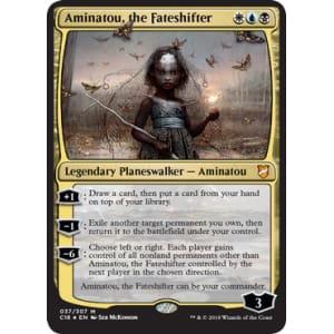 Aminatou, the Fateshifter (Oversized Foil)