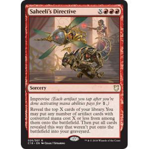 Saheeli's Directive