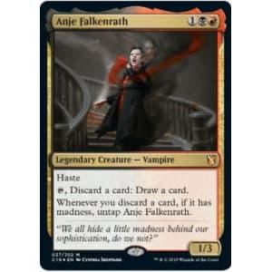 Anje Falkenrath (Oversized Foil)