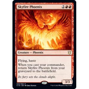 Commander 2019 MTG Red Rare Skyfire Phoenix NM